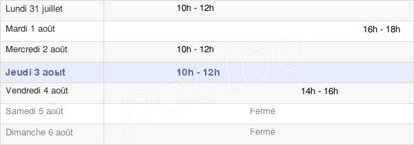 horaires d'ouverture de la Mairie De Flétrange