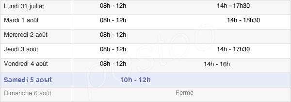 horaires d'ouverture de la Mairie De Bertrange