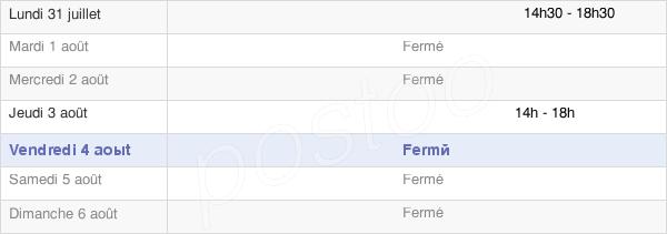 horaires d'ouverture de la Mairie D'Hémilly