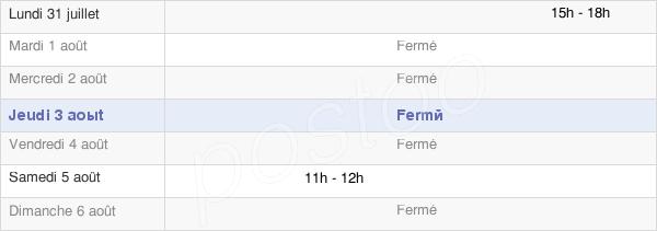 horaires d'ouverture de la Mairie De Salonnes