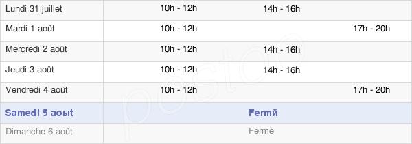 horaires d'ouverture de la Mairie De La Maxe