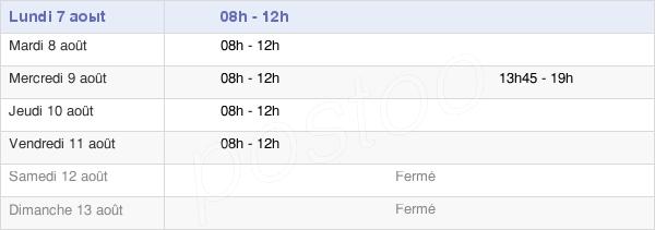 horaires d'ouverture de la Mairie De Distroff
