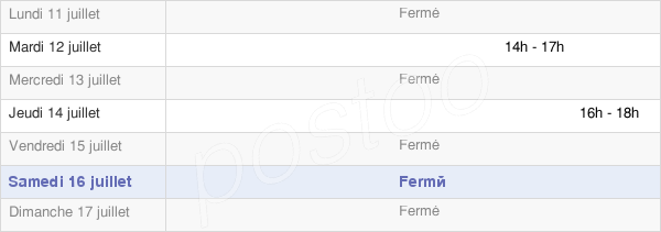 horaires d'ouverture de la Mairie De Laneuveville-En-Saulnois