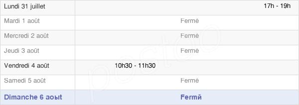 horaires d'ouverture de la Mairie De Niedervisse