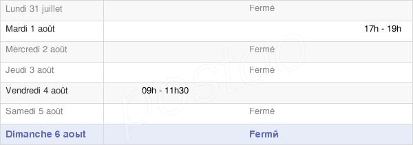 horaires d'ouverture de la Mairie De Freybouse