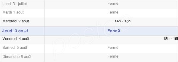 horaires d'ouverture de la Mairie D'Étrelles-Sur-Aube