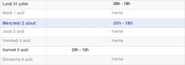 horaires d'ouverture de la Mairie De Torcy-Le-Grand