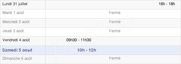 horaires d'ouverture de la Mairie De Mesnil-Saint-Père