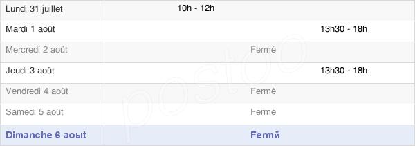 horaires d'ouverture de la Mairie De Saint-Léger-Près-Troyes