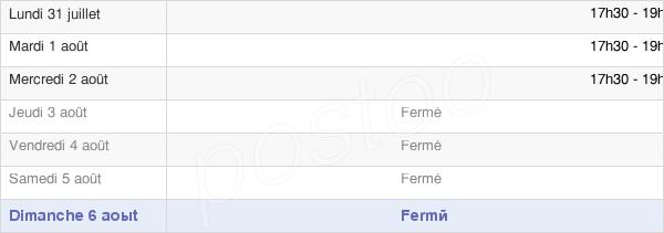 horaires d'ouverture de la Mairie De Mesnil-Saint-Loup