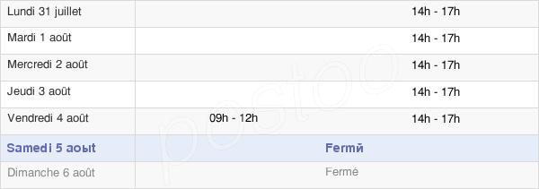 horaires d'ouverture de la Mairie De L'Ile-D'Elle