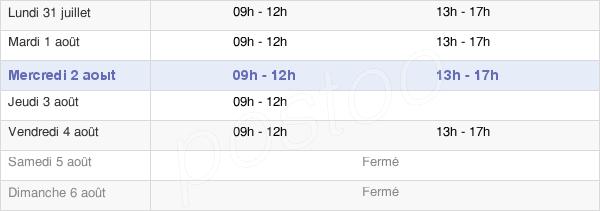 horaires d'ouverture de la Mairie De Brem-Sur-Mer