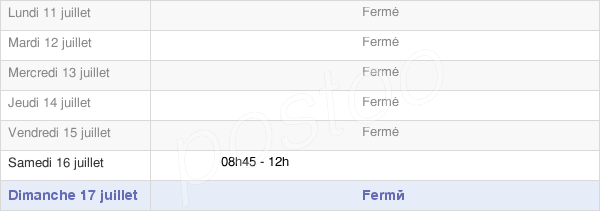 horaires d'ouverture de la Mairie De Bourgtheroulde-Infreville