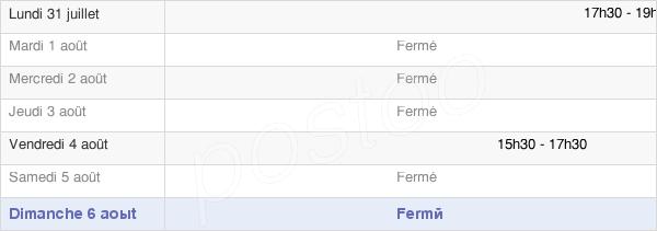 horaires d'ouverture de la Mairie De Manneville-La-Raoult