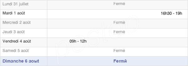horaires d'ouverture de la Mairie De Marais-Vernier