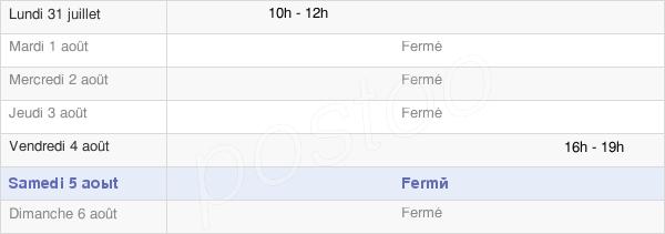 horaires d'ouverture de la Mairie De Freneuse-Sur-Risle