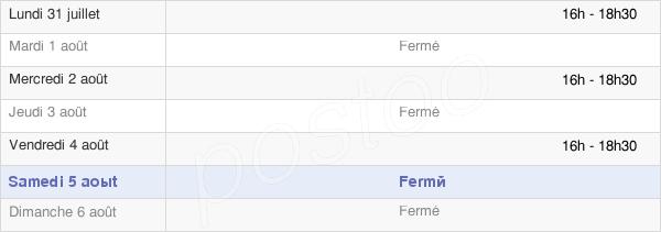 horaires d'ouverture de la Mairie De Fontaine-Heudebourg