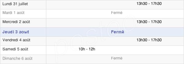 horaires d'ouverture de la Mairie De Breuilpont