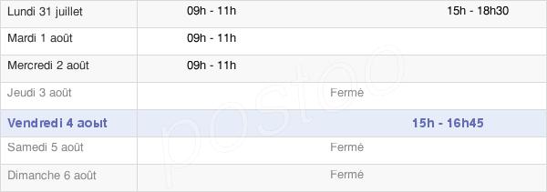 horaires d'ouverture de la Mairie D'Igoville