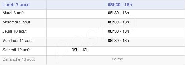 horaires d'ouverture de la Mairie De Val-De-Reuil