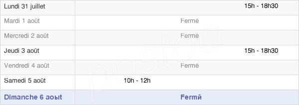 horaires d'ouverture de la Mairie De Amfreville Sous Les Monts