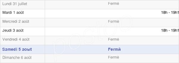 horaires d'ouverture de la Mairie De Fours En Vexin