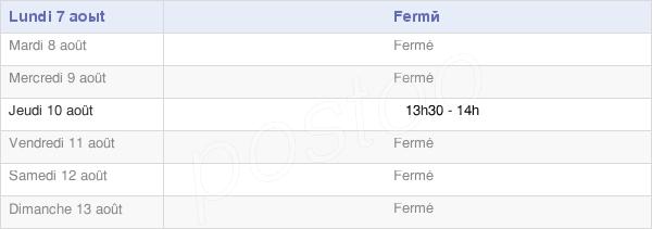 horaires d'ouverture de la Mairie De Fontaine En Dormois