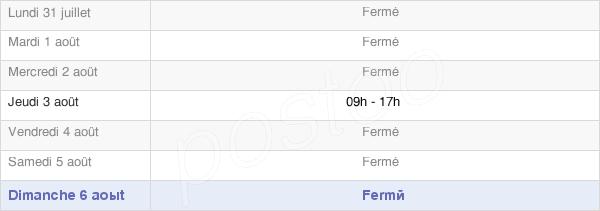 horaires d'ouverture de la Mairie De Vassimont-Et-Chapelaine