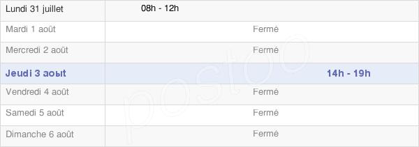 horaires d'ouverture de la Mairie D'Isle-Sur-Marne