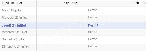horaires d'ouverture de la Mairie Faux-Vésigneul