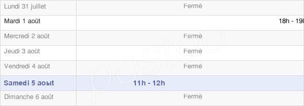horaires d'ouverture de la Mairie De Broussy-Le-Grand