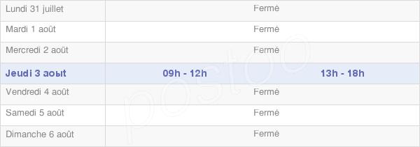 horaires d'ouverture de la Mairie De Vienne-La-Ville