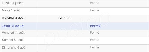 horaires d'ouverture de la Mairie De Lhéry