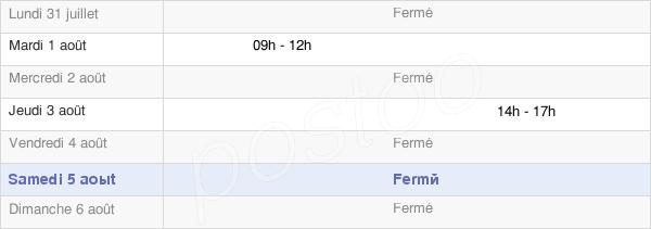 horaires d'ouverture de la Mairie De Saint-Souplet-Sur-Py