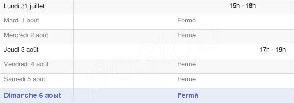 horaires d'ouverture de la Mairie De Méry-Prémecy