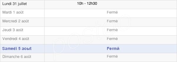 horaires d'ouverture de la Mairie D'Haussimont