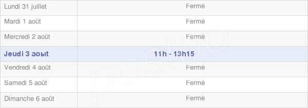 horaires d'ouverture de la Mairie De Givry-Lès-Loisy