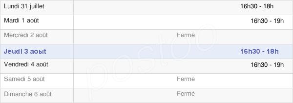 horaires d'ouverture de la Mairie De Belhomert-Guehouville