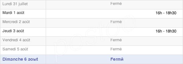 horaires d'ouverture de la Mairie De Meslay-Le-Grenet