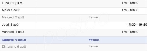 horaires d'ouverture de la Mairie De Fresnay-L'Évêque