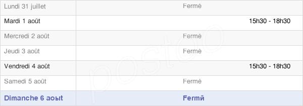 horaires d'ouverture de la Mairie De Roinville-Sous-Auneau