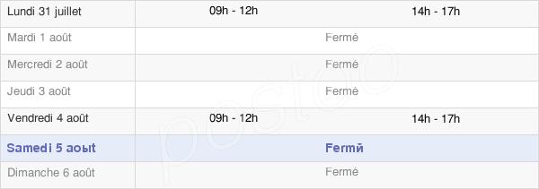 horaires d'ouverture de la Mairie Des Autels-Villevillon