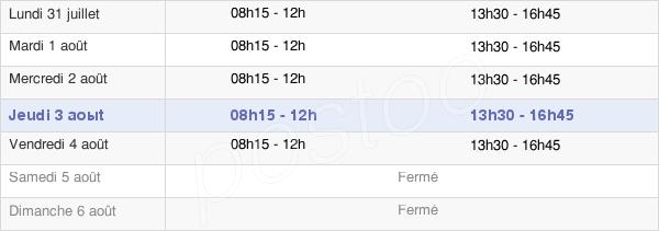 horaires d'ouverture de la Mairie De Cap-D'Ail