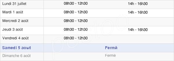horaires d'ouverture de la Mairie De Coaraze