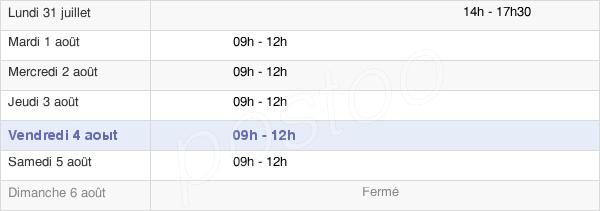 horaires d'ouverture de la Mairie De Saint-Herblon