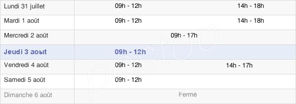 horaires d'ouverture de la Mairie De La Haye-Fouassière